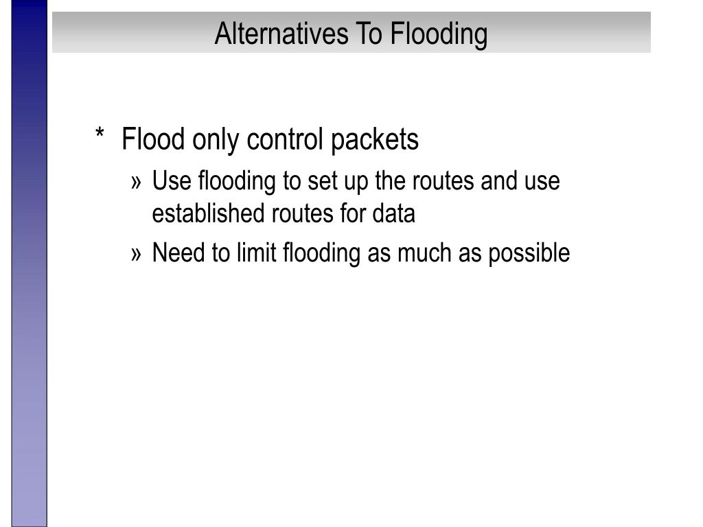 Alternatives To Flooding