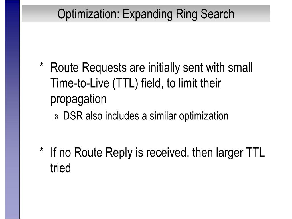 Optimization: Expanding Ring Search