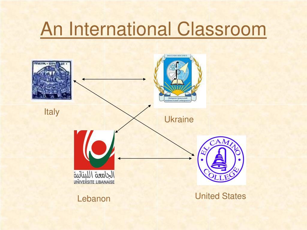 An International Classroom
