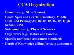 cca organization