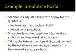 example stephanie postal10