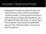 example stephanie postal11
