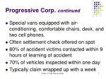 progressive corp continued
