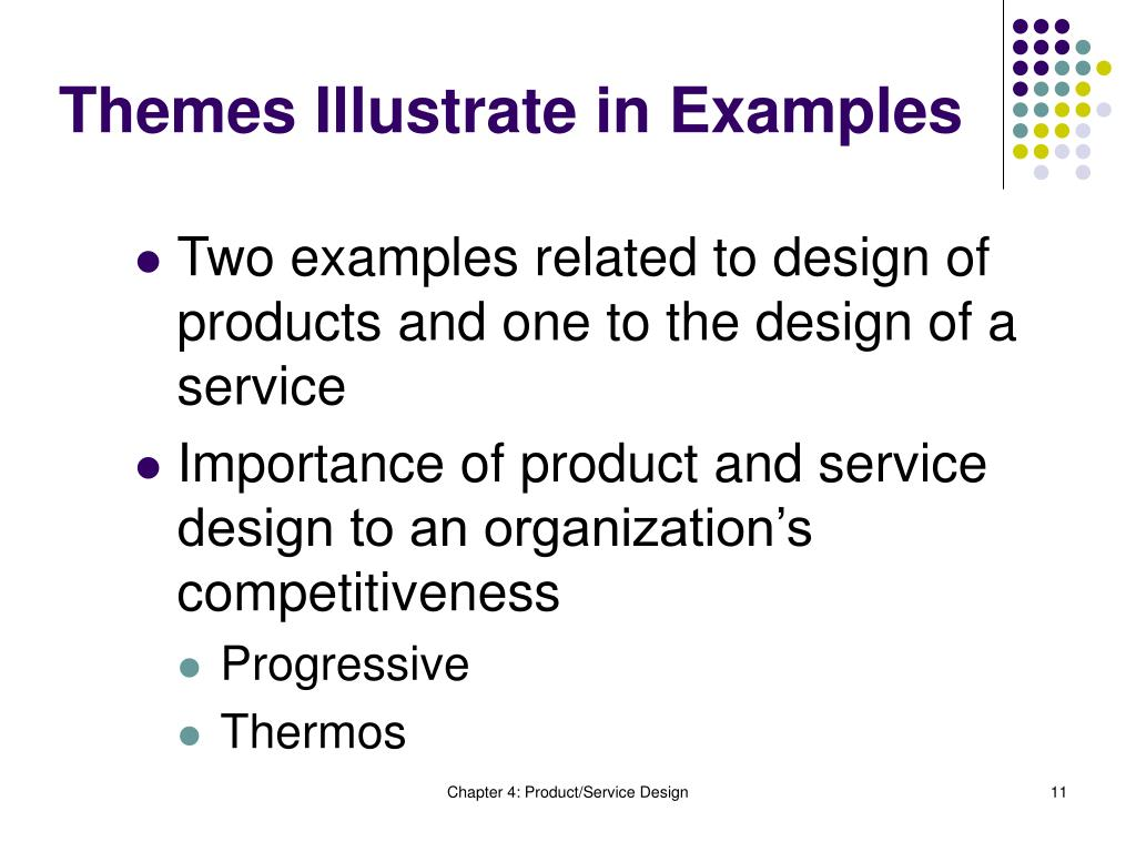 Themes Illustrate in Examples