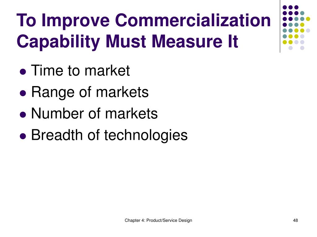 To Improve Commercialization Capability Must Measure It