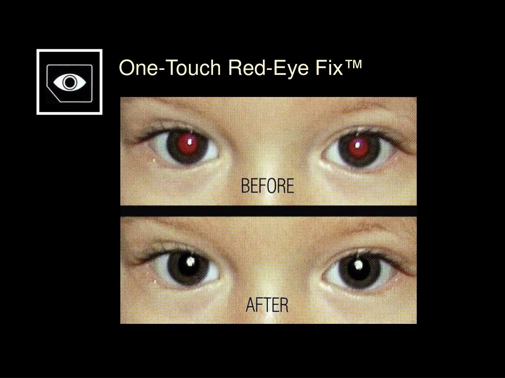 One-Touch Red-Eye Fix™