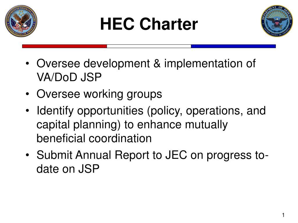 HEC Charter