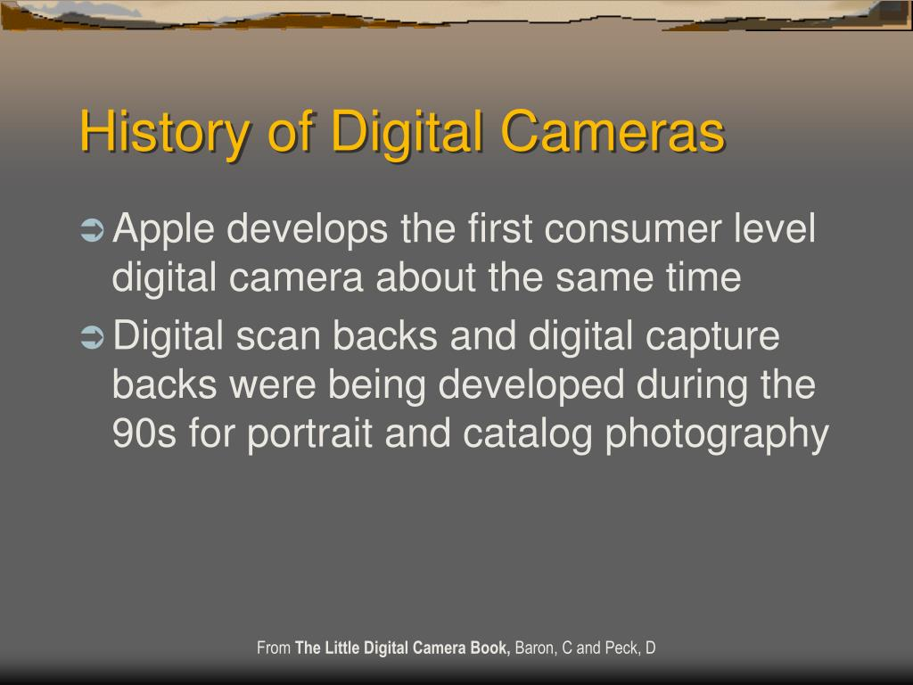 History of Digital Cameras