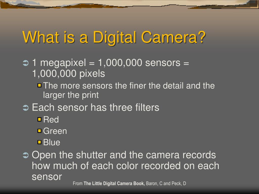 What is a Digital Camera?