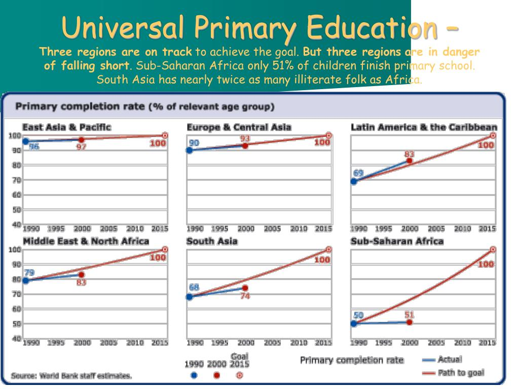 Universal Primary Education –