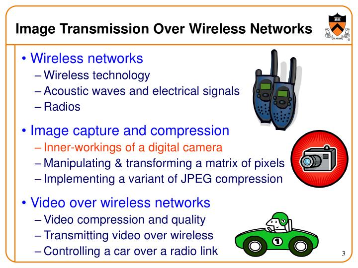 Image transmission over wireless networks