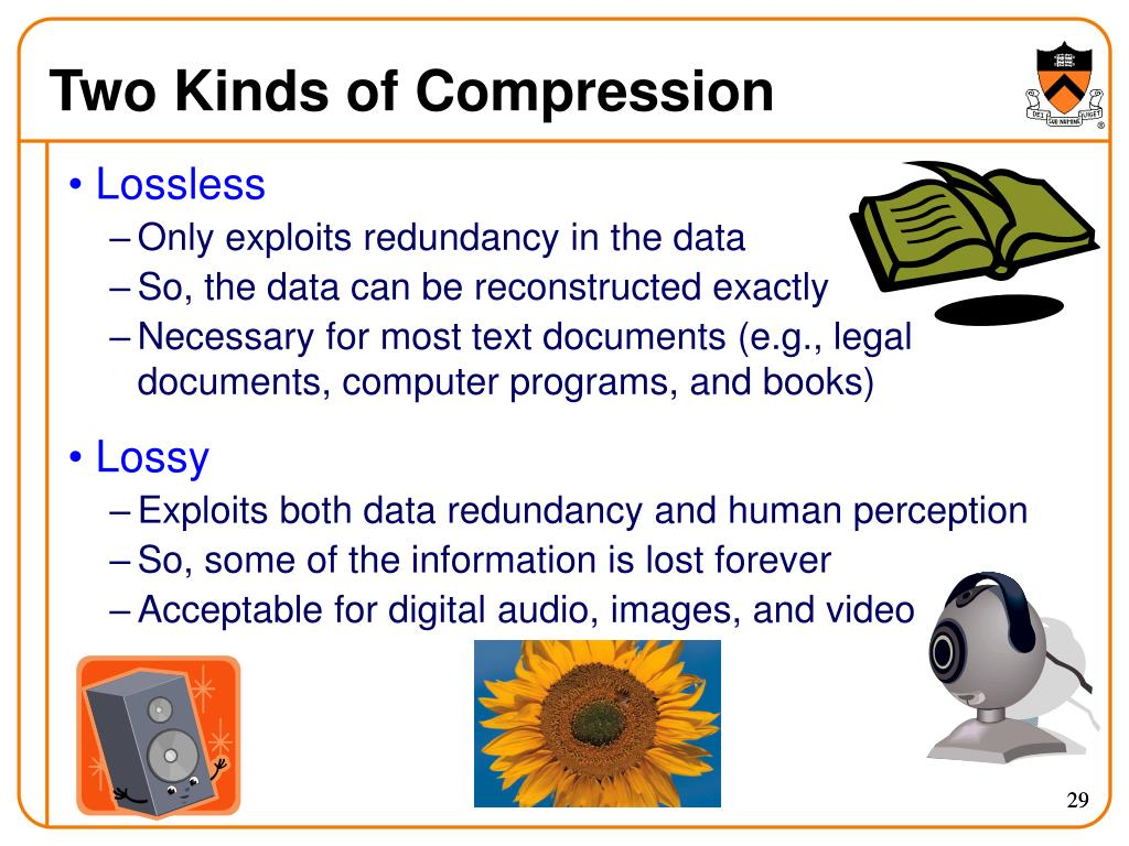 Two Kinds of Compression