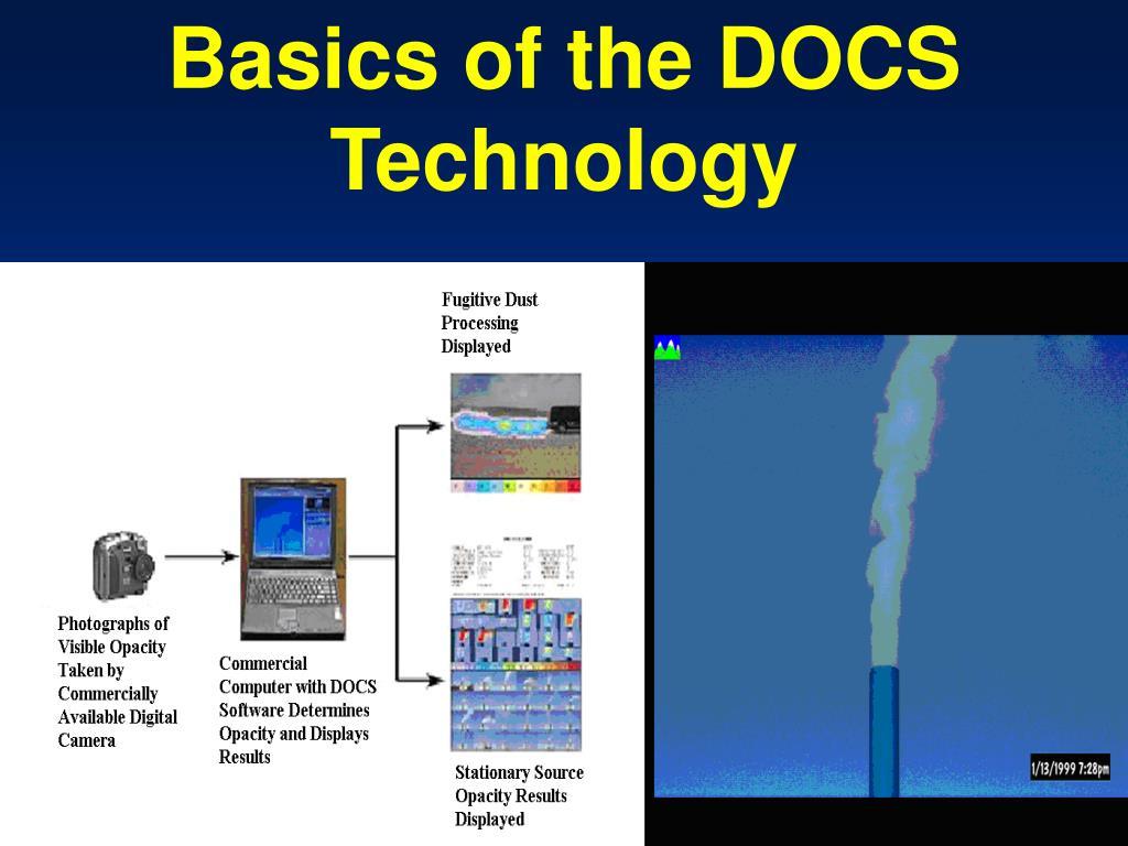 Basics of the DOCS Technology
