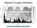 apparent oxygen utilization