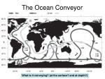the ocean conveyor