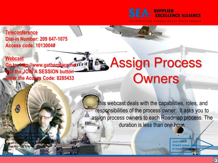 Assign process owners l.jpg
