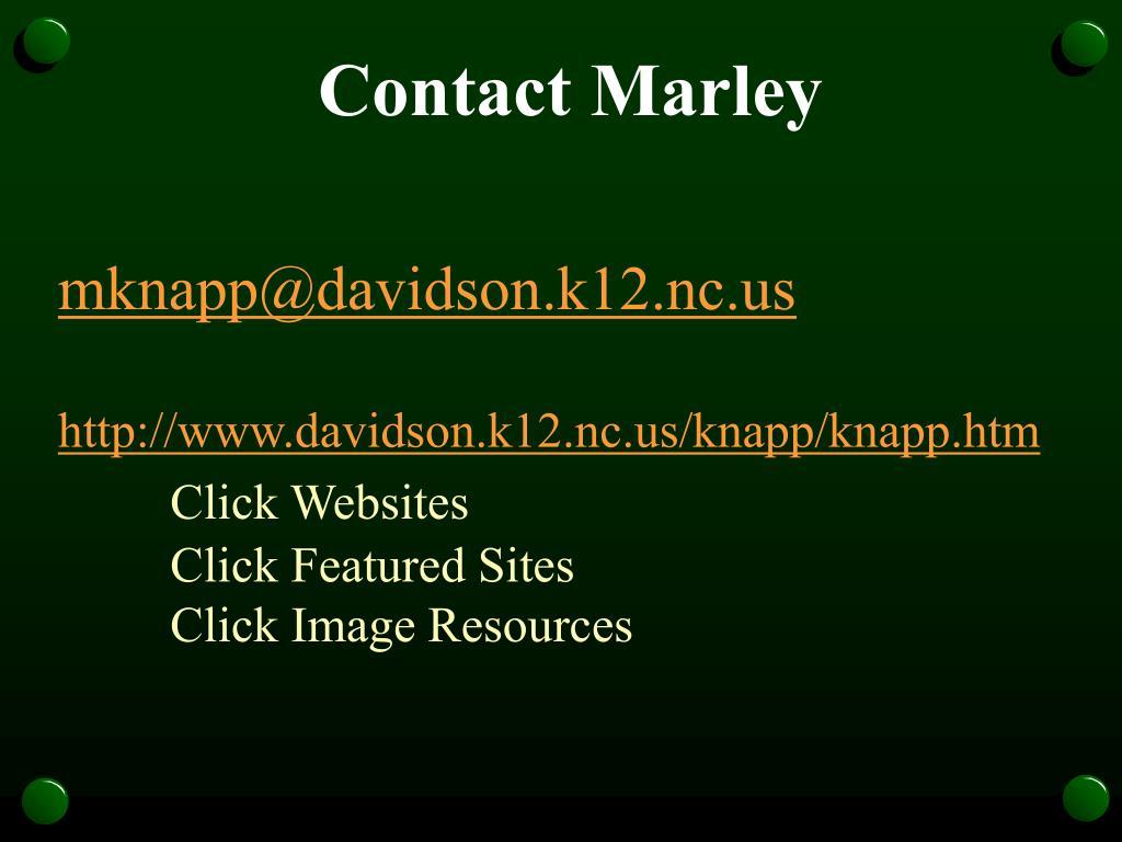 Contact Marley