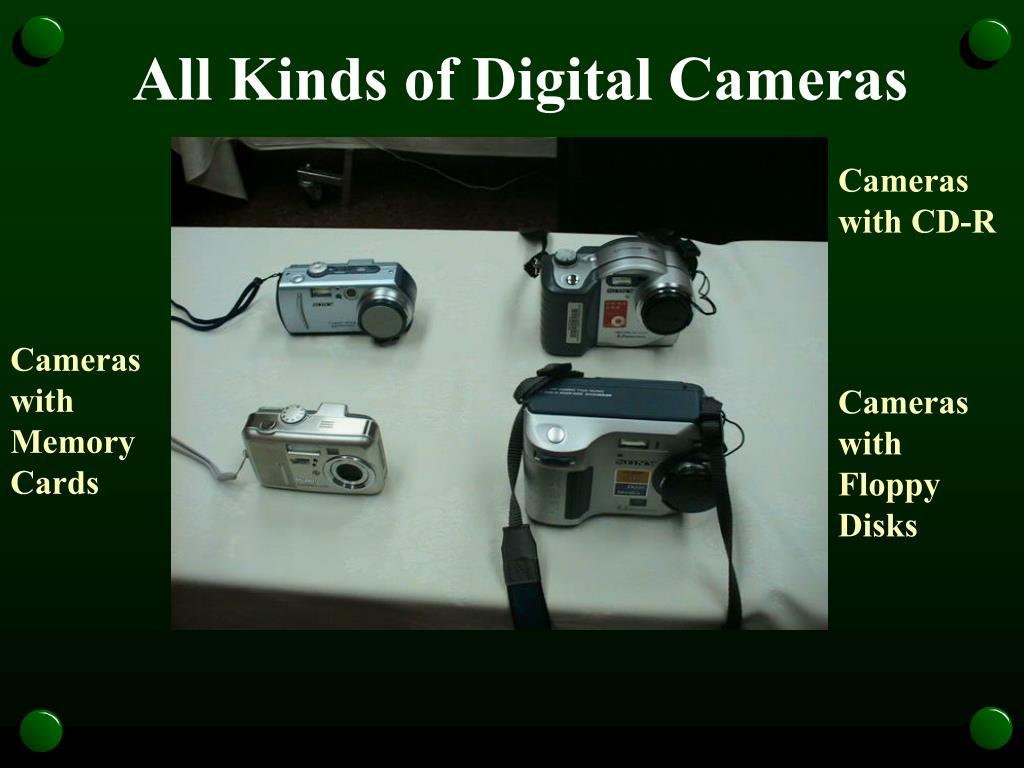 All Kinds of Digital Cameras