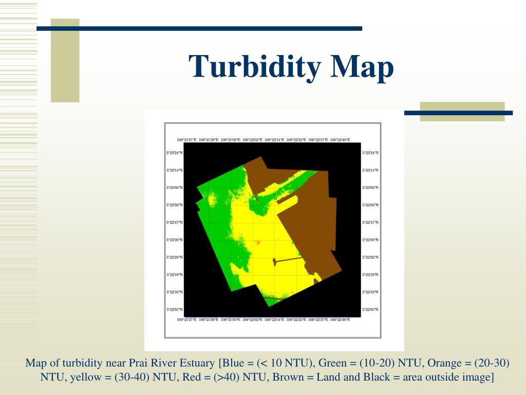 Turbidity Map