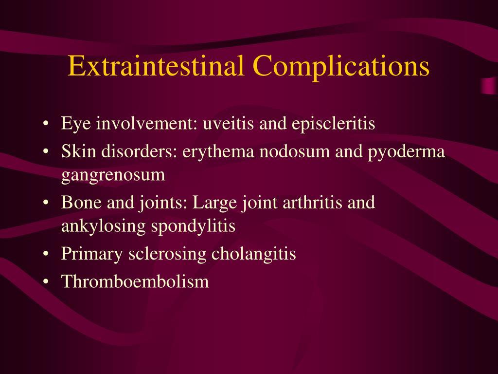 Extraintestinal Complications