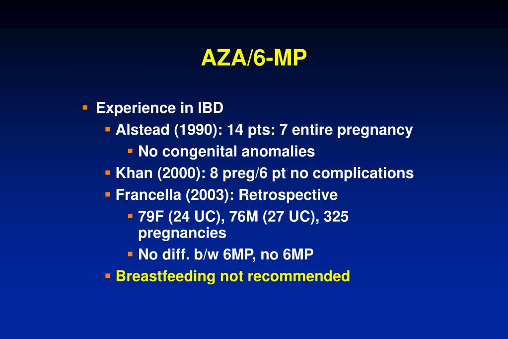 AZA/6-MP