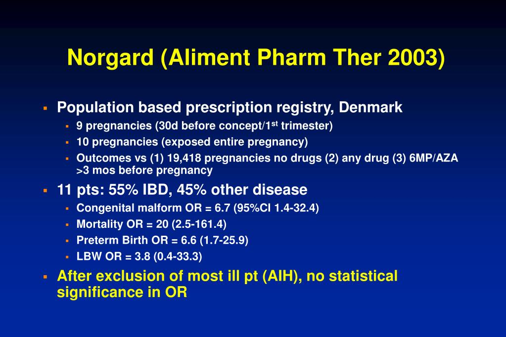 Norgard (Aliment Pharm Ther 2003)