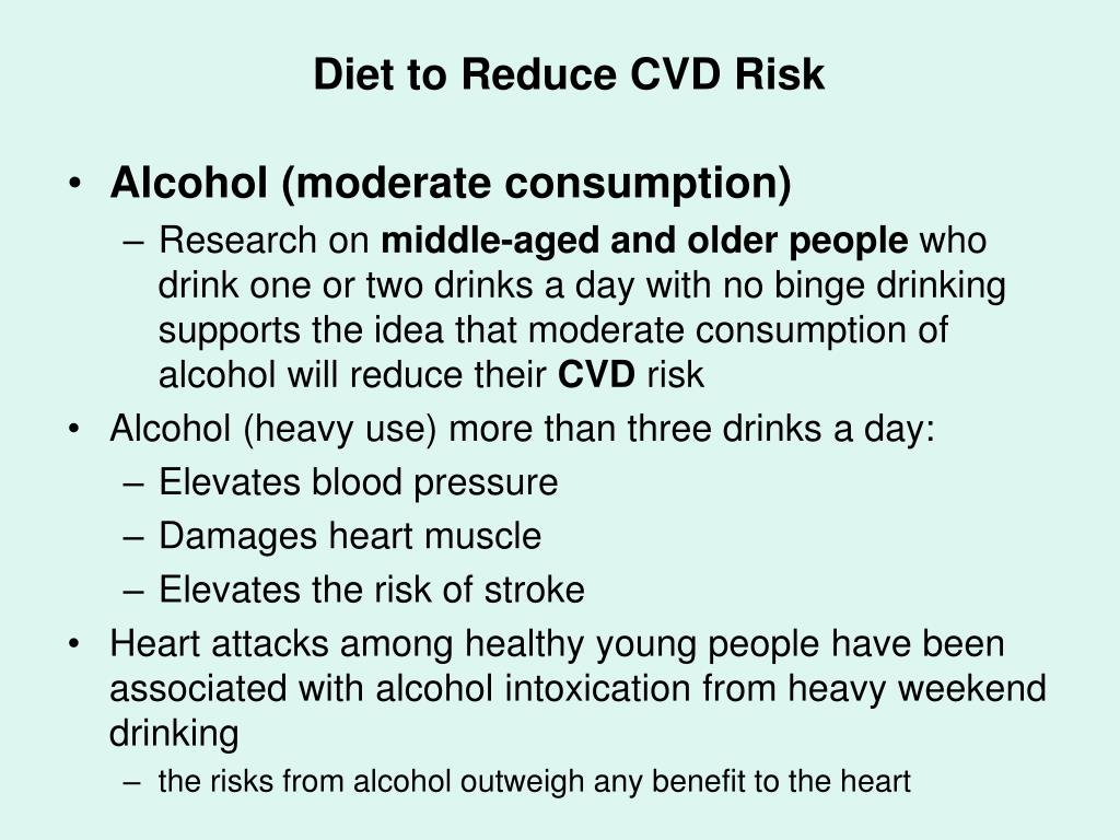 Diet to Reduce CVD Risk