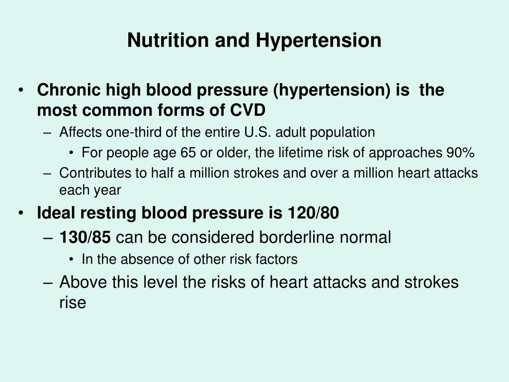 Nutrition and Hypertension