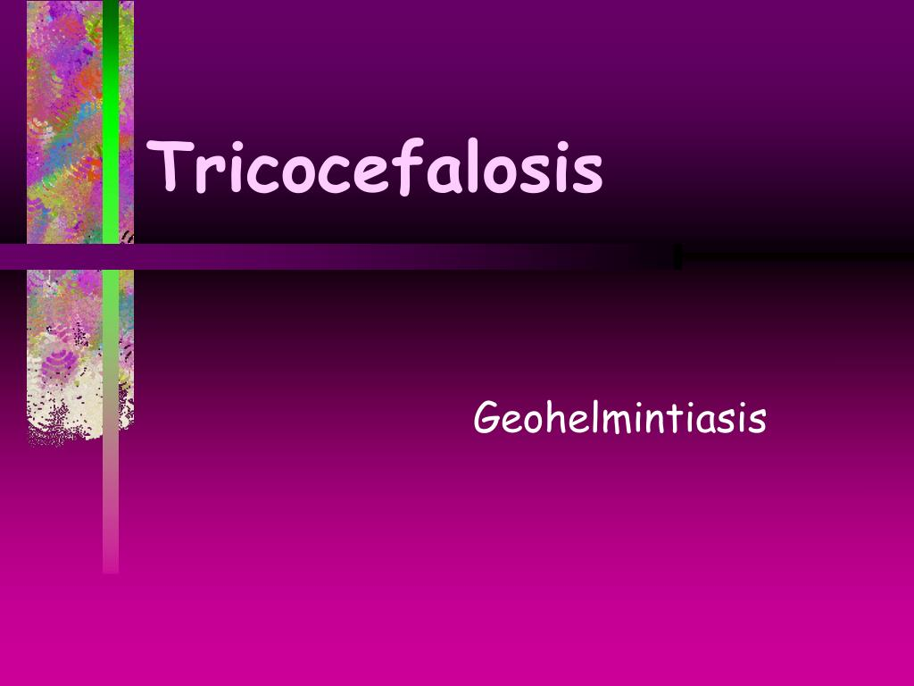 Tricocefalosis