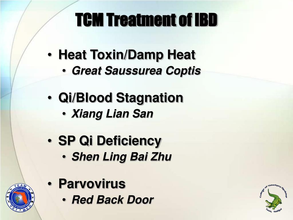 TCM Treatment of IBD