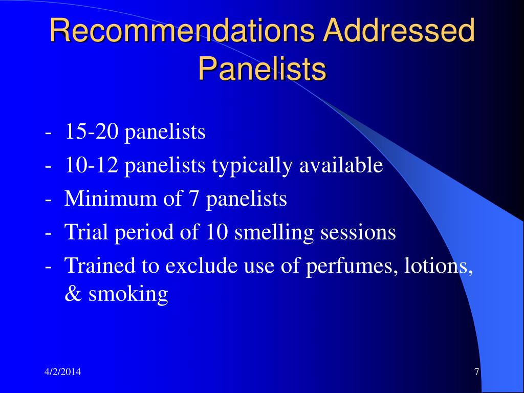 Recommendations Addressed