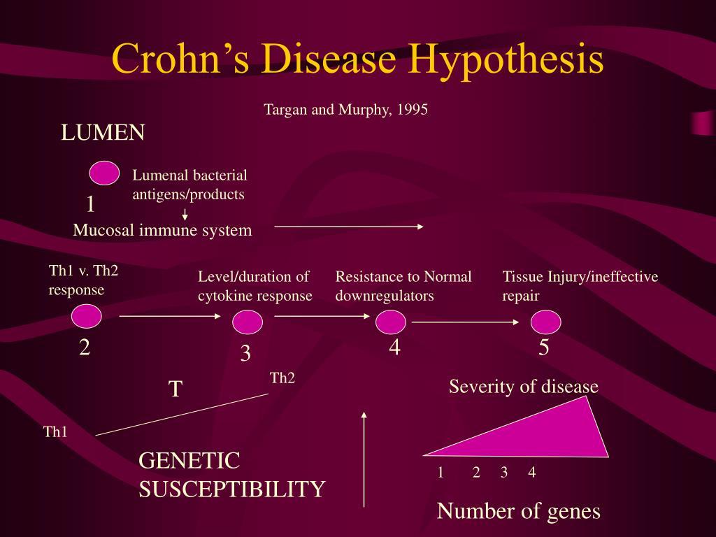 Crohn's Disease Hypothesis