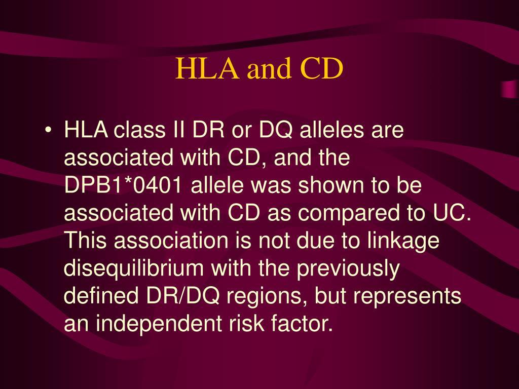 HLA and CD