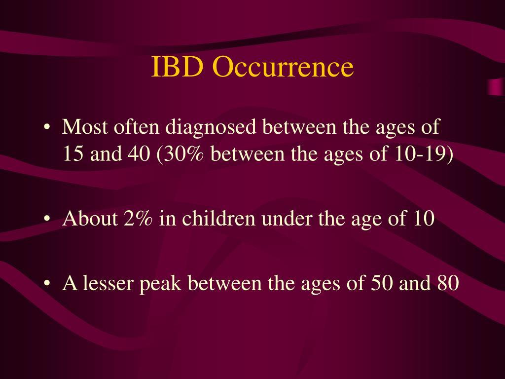 IBD Occurrence