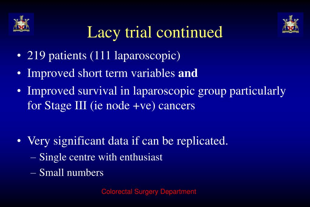 Lacy trial continued