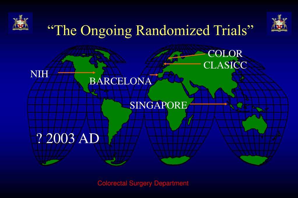 """The Ongoing Randomized Trials"""