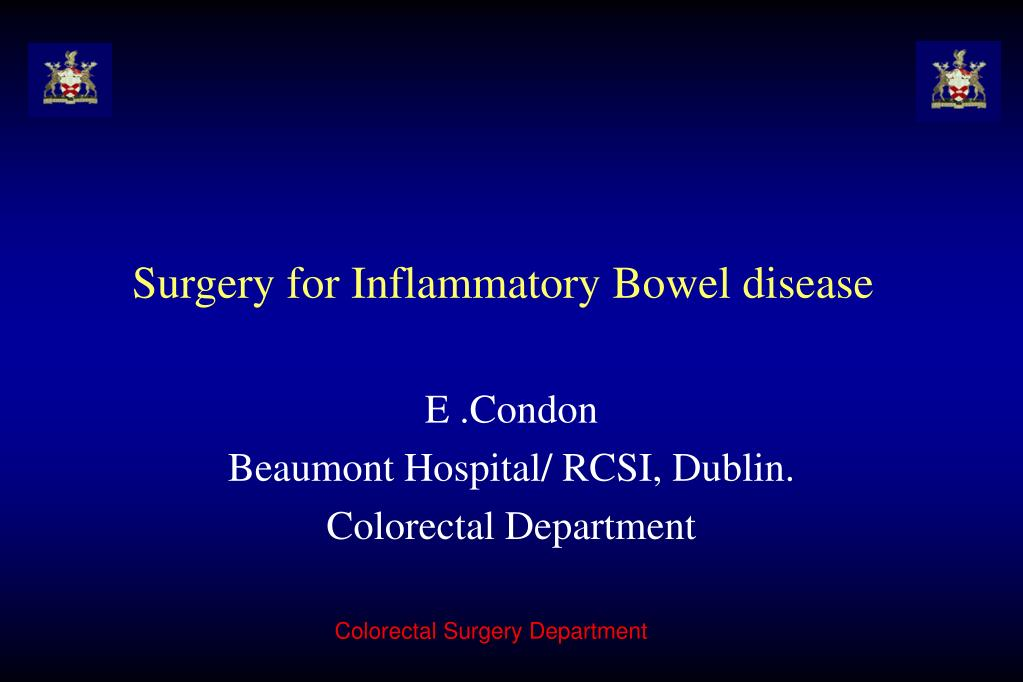 Surgery for Inflammatory Bowel disease