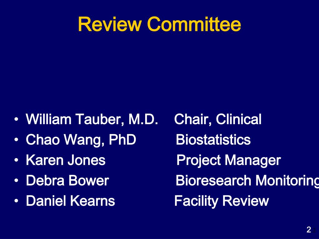 Review Committee