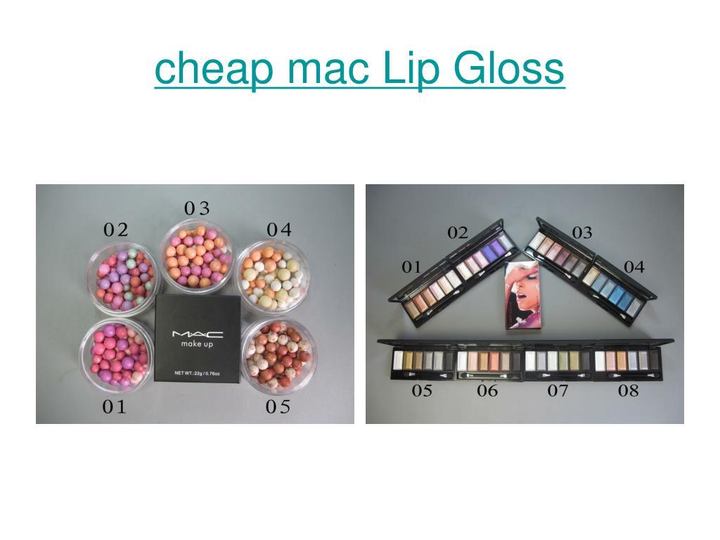 cheap mac Lip Gloss