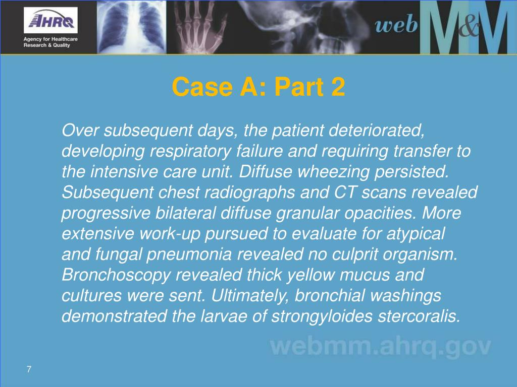 Case A: Part 2