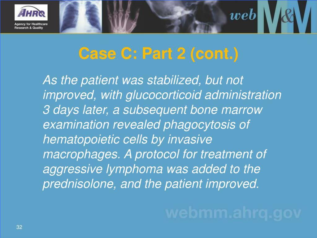 Case C: Part 2 (cont.)