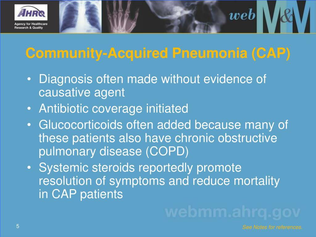Community-Acquired Pneumonia (CAP)