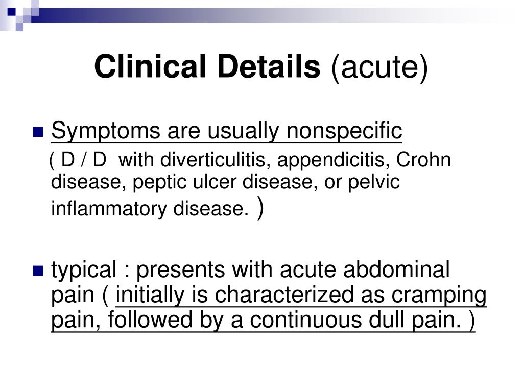 Clinical Details