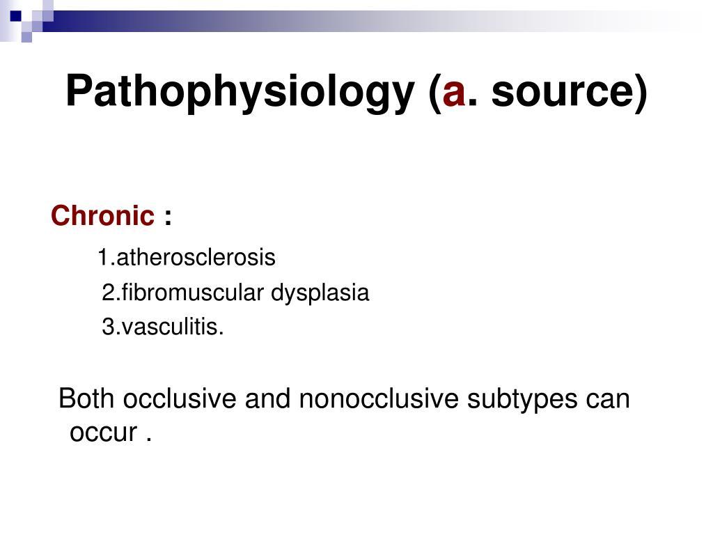 Pathophysiology (