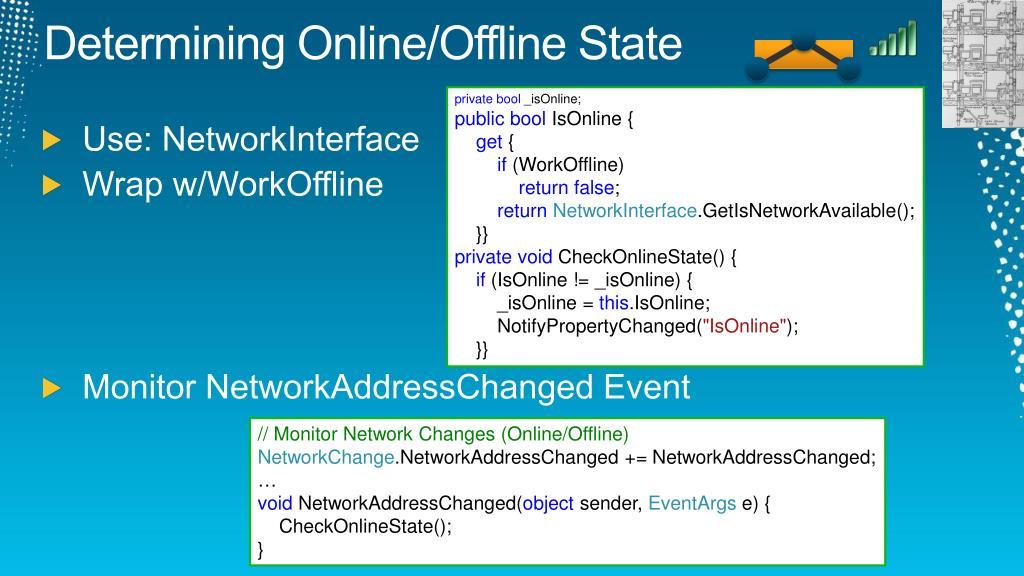 Determining Online/Offline State