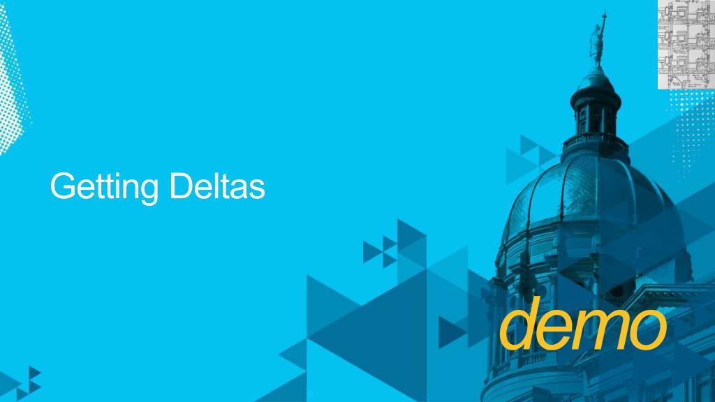 Getting Deltas