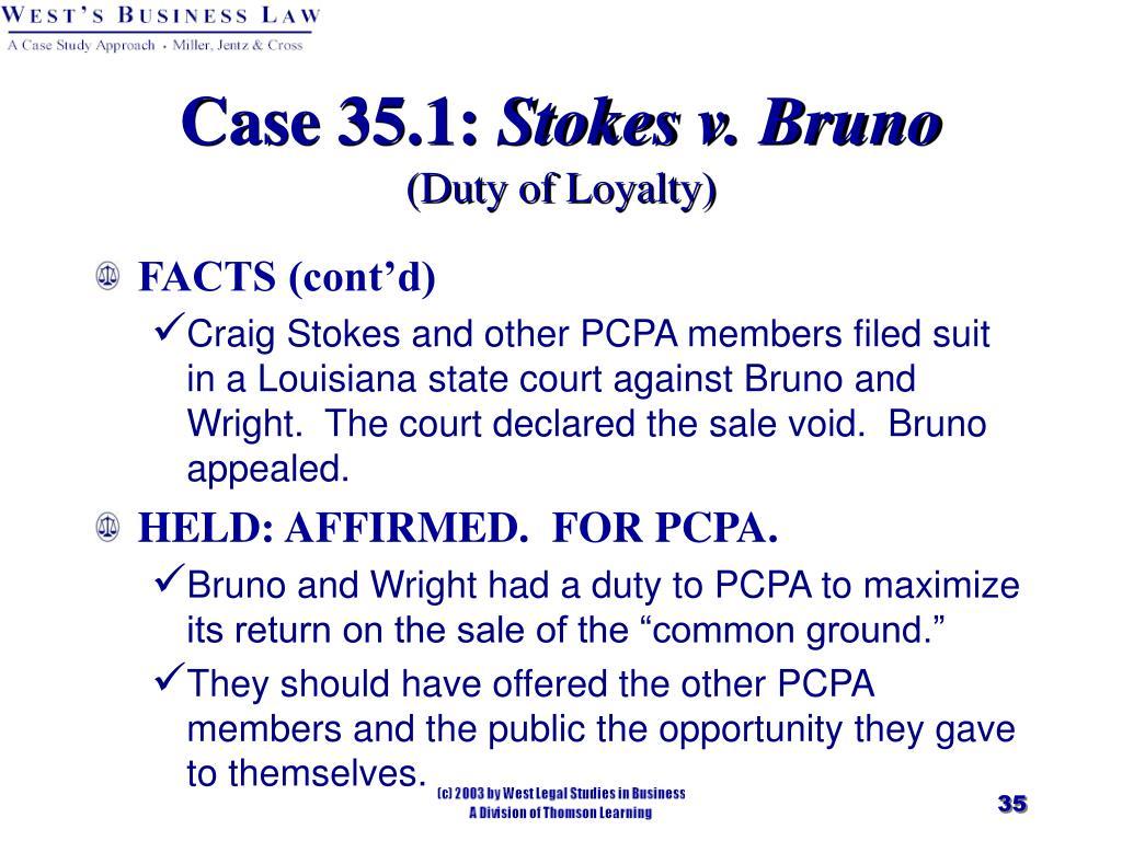 Case 35.1: