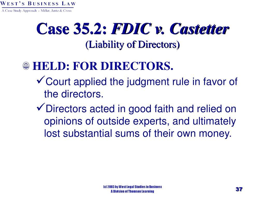 Case 35.2: