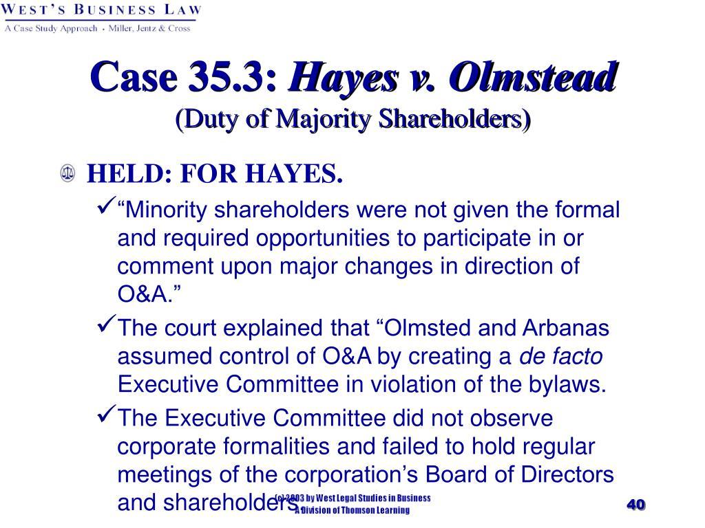 Case 35.3: