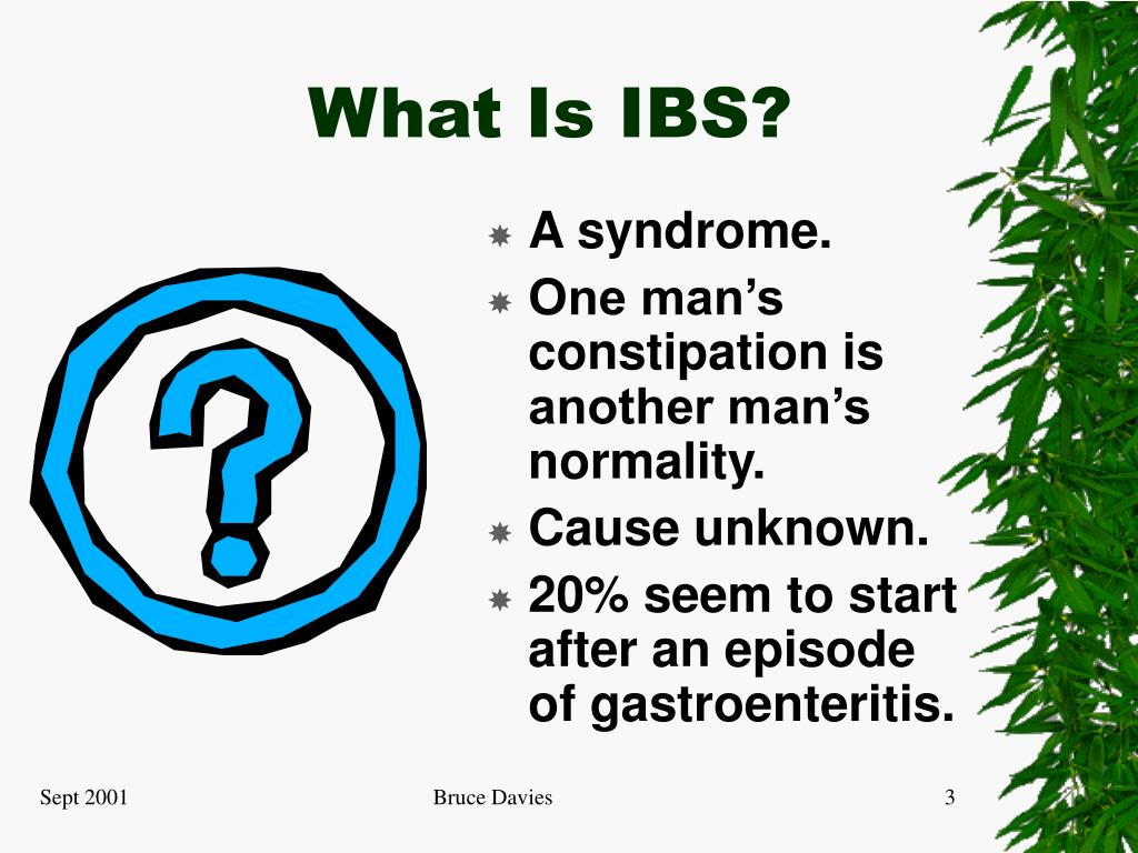 What Is IBS?